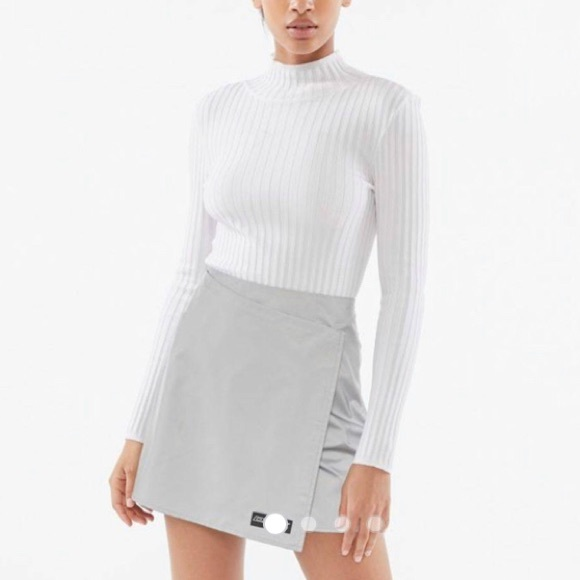 DKNY Tech UO Exclusive Reflective Skirt